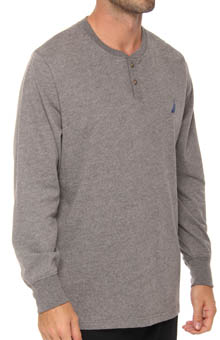 Sueded Jersey Henley
