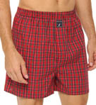 Derek Plaid Woven Boxer