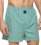 Nautica Carson Micro Plaid Boxer 301240