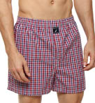 Nautica Talen Plaid Woven Boxer 301440