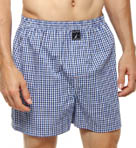 Water Check Woven Boxer