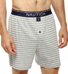 Dunner Yard Stripe Knit Boxer