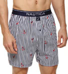 Nautica Oar Stripe Boxer 305541