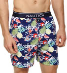 Nautica Scuba Print Knit Boxer 308041