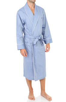 Nautica Anchor Woven Shawl Collar Robe