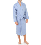 Anchor Woven Shawl Collar Robe