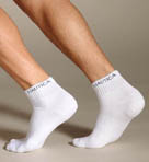 Nautica 3-Pack Performance Quarter Top Sock E04020