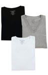 V-Neck Tees - 3 Pack