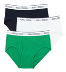 Nautica Full Cut Briefs - 3 Pack UR3413