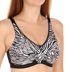 Nearly Me Zebra Soft Cup Mastectomy Bra 690