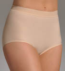 Nearly Nude Thinvisible Smoothing Cotton Brief Panty 11U001