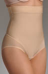Nearly Nude Thinvisible Firming Microfiber High Waisted Brief 21U001