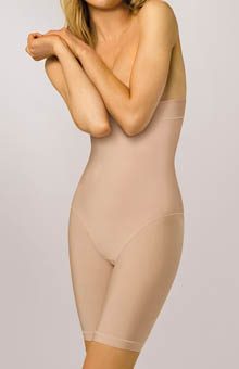 Nearly Nude Thinvisible Firming Microfiber High Waist Slimmer 24U001