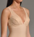 Nearly Nude Thinvisible Firming Microfiber Camisole with Lace 25U002