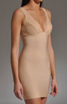 Nearly Nude Thinvisible Firming Microfiber Slip with Lace 27U002