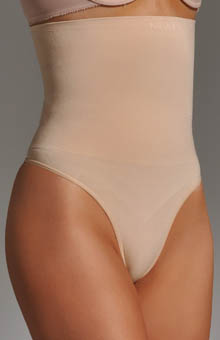 Nearly Nude Thinvisible Ultra Firm Seamless High Waisted Thong