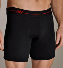 Essential 2pk Boxer Briefs Red Contrast