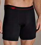 Essential Red Contrast Boxer Briefs - 2 Pack