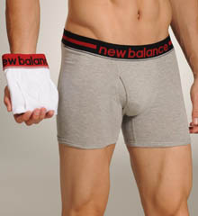 2 Pack Contrast Waistband Boxer Brief