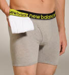 New Balance Cotton Stretch Boxer Briefs - 2 Pack 50924