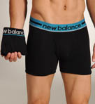 New Balance Turkish Tile Contrast Waistband Trunks - 2 Pack 70925