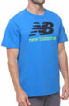 New Balance Short Sleeve Large Graphic Logo Tee MET3170