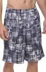 "New Balance 10"" Printed Plaid Short MFS3164"
