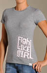 Lace Up Fight Tech Tee