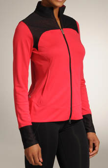 Mesh Fitness Jacket