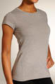 New Balance Heathered Short Sleeve Top WRT2139