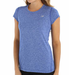 New Balance Heather Short Sleeve Tee WRT2338