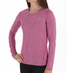New Balance NB Dry Heathered Long Sleeve Tee WRT3320