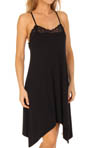 Nicole Miller Primeval Solid Edge Lace Chemise 280400