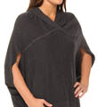 Nicole Miller Lush Plush Signature Hooded Poncho 280455