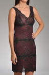 Nicole Miller Elegant Lace Chemise 282403