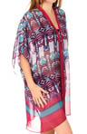 Nicole Miller Primeval Border Printed Wrap 284400