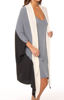 Lush Plush Color-Blocked Wrap