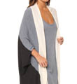 Nicole Miller Lush Plush Color-Blocked Wrap 284455