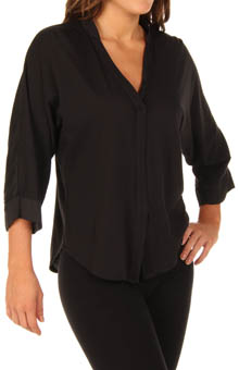 Nicole Miller Elements Satin Panel Top 286404