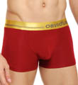 Obviously For Men Metallic Low Rise Boxer Brief 1 Inch Inseam MCI1820