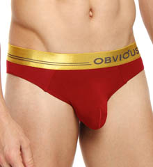 Obviously For Men Metallic Low Rise Brief