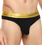 Obviously For Men Metallic Low Rise Brief MDI1850
