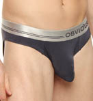 Obviously For Men Metallic Low Rise Brief MDI1870