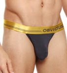 Obviously For Men Metallic Low Rise Bikini Brief MEI1830