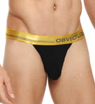 Metallic Low Rise Bikini Brief