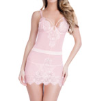 Eyelash Lace Babydoll With G-String Image