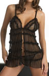Ruffle Babydoll And G-String