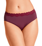 Without A Stitch Lace Hi Cut Brief Panty