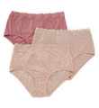 Without A Stitch Lace Brief Panty- 3 Pack Image