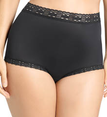 Olga Secret Hug Nylon Scoop Full Brief Panties 873